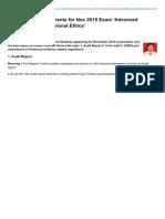Taxguru.in-cA FINAL -Amendments for Nov 2015 Exam Advanced Auditing and Professional Ethics