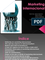 Marketing Internacional y global