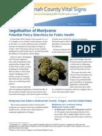Vital Signs - Marijuana Brief Multnomah County