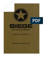 Preview of Siege -  A New Book By Mark Crutcher