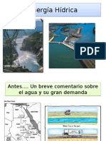 Recursos hídricos en energía