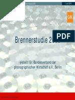 Musik Branchendaten Brennerstudie 2005 02