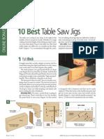 10 Best Tablesaw Jigs