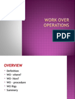 Work Over Operations GT Ppt