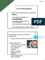 Chromatography Introduction