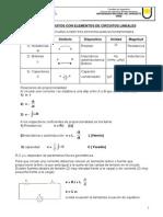 Teoria de los circuitos con elementos de los circuitos lineales