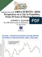 cities houston area survey 30yr trends