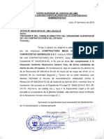 Medida Cautelar-MEGASUR MVA