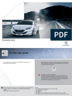 Peugeot RCZ 2013 Owners Manual