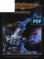 Fading Suns 3rd Edition Life Paths
