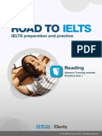 Road to Ielts G Reading Practise Test