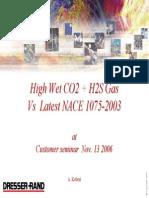 NACE 2003 Cust Seminar 2006