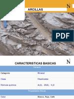 geologia arcillas