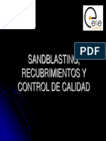 Sandblasting, Recubrimientos y Control de Calidad