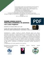 Luisa Pogliana Donne Senza Guscio