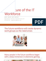 Pacific NW DGS 2015 Presentation - The Future of the IT Workforce - Gage Andrews