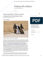 Sexual and Ethnic Violence and the Construction of the Islamic State
