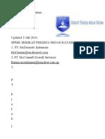 List HRD Batam, SPMB 2 Juli 2014