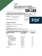 MSDS Spartek PG2 Grease 10001321