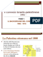 Il Conflitto Israelo-palestinese 1800-1950