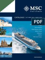 catalogo cruceros