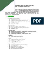 Daftar Penomoran Jajanan Nusantara Per Provinsi