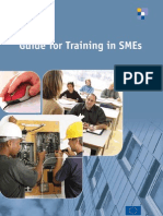 Guide for Training in SMEs