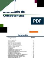 Diccionario Banco Competencias