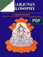 K. Venkata Ramanan-Nagarjuna's Philosophy-Motilal Banarsidass (1987)
