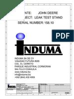 John Deere Leak Test 158.10