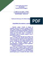 Ruggiero Roberto - Adaptabilidad, Discernimiento