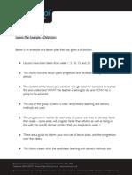 Rockschool Lesson Plans Distinction