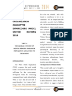 Study Guide Who-committee