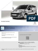 Peugeot Bipper 2014 Owners Manual