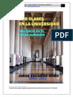 Dar Clases en La Universidad Docencia en El Nivel Superior