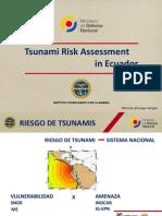 Arreaga INOCAR Tsunami Risk Ass Ecuador
