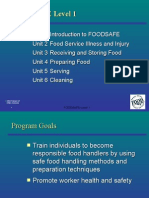 Foodsafe Level 1-Ppt