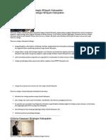 Penetapan Kawasan Strategis Wilayah Kabupaten