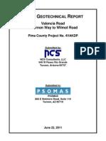 Geotechnical Report - Valencia - Alvernon
