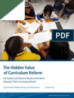 The Hidden Value of Curriculum Reform