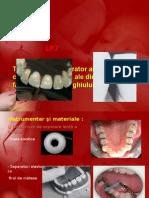 Tratament Restaurator Cl a-III-A