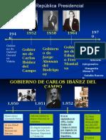 Gobiernos Chile Gobiernos de chile