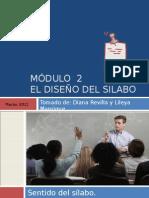 PPT 03 El Diseno Del Silabo