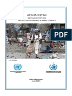 UNAMA Protection of Civilians in Armed Conflict Midyear Report 2015