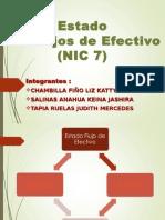 Estados de flujos de efectivo Nic7