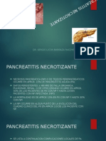 Pancreatitis Necrotizante & Pseudoquiste Pancreatico Indicaciones Quirurgicas