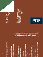 2013-2014 Opseu Collective Agreement Final