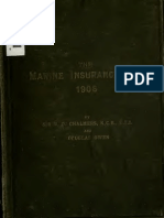 Marine Insurance Act, 1906 - Chalmers Commentary