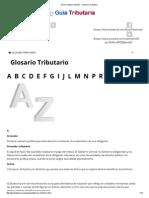 Guía Tributaria SUNAT - Glosario Tributario