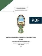 PERFORACIÓN MEDIANTE EL CONTROL DE LA PRESIÓN DE FONDO.pdf